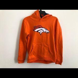 Denver Broncos NFL Youth Large hooded sweatshirt